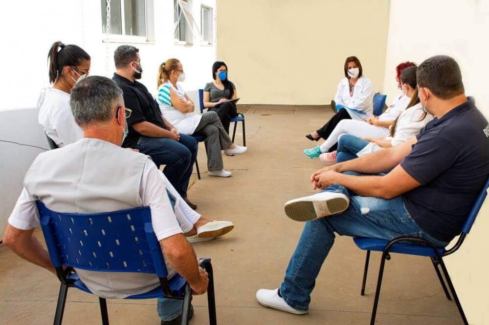 Prefeitura disponibiliza atendimento com psicólogos do Uni-FACEF para profissionais da Saúde da UPA Anita